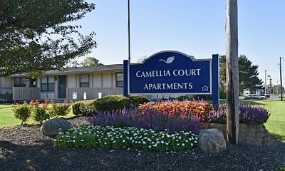 Landscaping, Camellia Court, 2