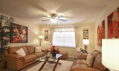 Living Room, Cadence at Bluff Park, 1