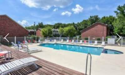 Pool, Kings Crest Townhomes, 2