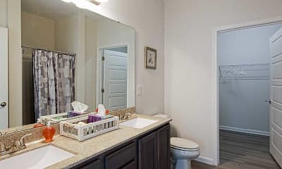 Bathroom, 10 Newbridge Apartments, 2