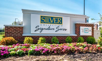 Community Signage, Silver Collection at Carl D. Silver Parkway, 2
