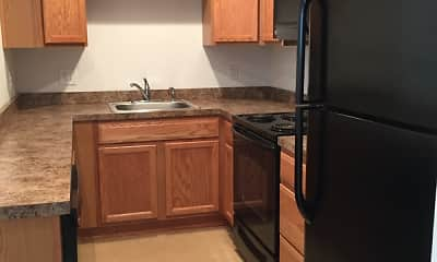 Kitchen, Stafford Apartments - Student Housing, 1