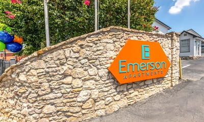 Community Signage, Emerson Apartments, 2