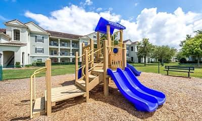 Playground, Mirador & Stovall Apartments At River City, 2