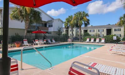 Pool, Silversmith Creek Apartment Homes, 1