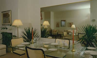 Dining Room, Monument Place Apartments, 1
