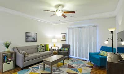 Living Room, Windy Hill Apartments, 0
