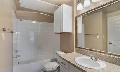 Bathroom, Mission Rockwall, 2