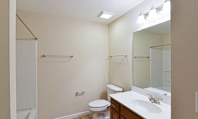 Bathroom, Residences at Wheaton Village, 2
