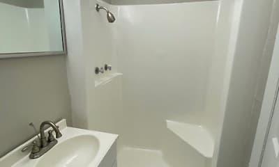 Bathroom, Village Walk Apartments, 2