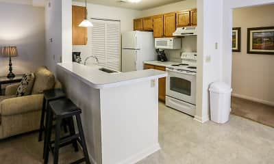 Kitchen, Daniel's Creek Luxury Apartments, 1