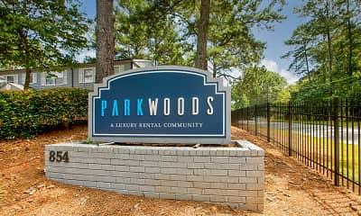 Community Signage, Park Woods Estates, 2