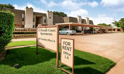 Community Signage, El Dorado Court Apartments, 0
