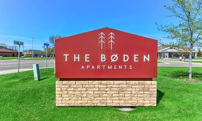 Community Signage, The Boden Apartments, 2
