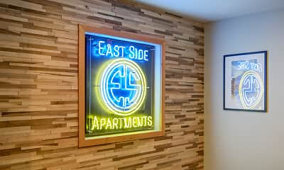 Community Signage, East Side Apartments, 1