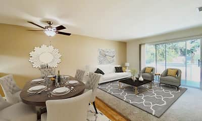 Dining Room, Oak Pointe Apartments, 0
