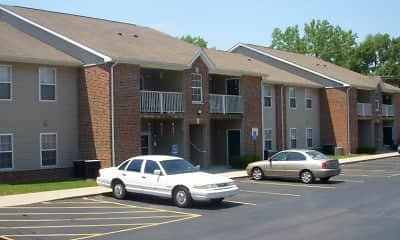 Building, East Ridge Apartments - IN, 2