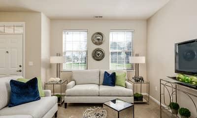 Living Room, Parkways of Auburn Hills, 1