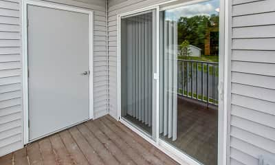 Patio / Deck, Carlton Hollow Senior Apartments, 2