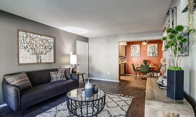 Living Room, Ann Arbor Woods, 0