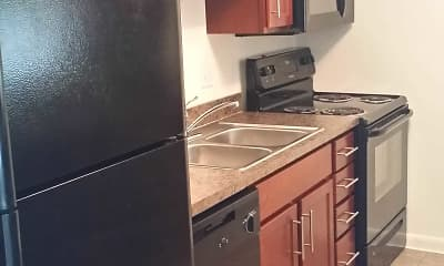Kitchen, Estero Woods Village In Fountain Lakes, 1