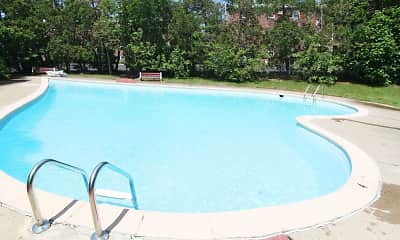 Pool, Hickory Hills Apartments, 0