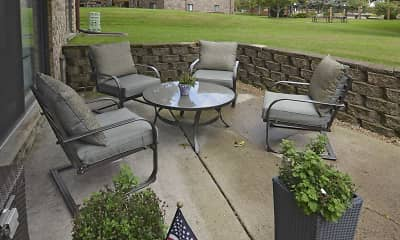 Patio / Deck, Village Apartments, 0