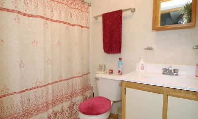 Bathroom, St. Andrews Apartments, 2