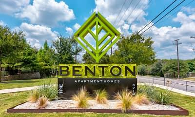 Community Signage, The Benton, 2