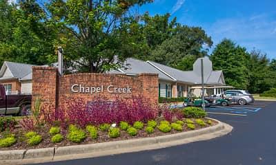 Community Signage, Chapel Creek, 2