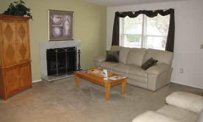 Living Room, Harbor Ridge At Landen, 1