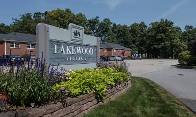 Community Signage, Lakewood Village Apartments, 2