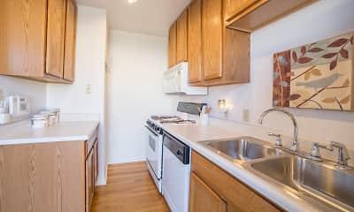 Kitchen, Broad Ripple Townhomes, 0
