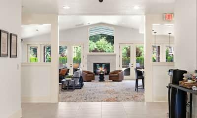 Living Room, North Glen Villas, 1