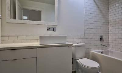 Bathroom, Broad St. Lofts, 2