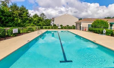 Pool, Hunter's Green Apartments, 0