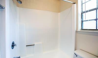 Bathroom, Highcrest Apartments, 2