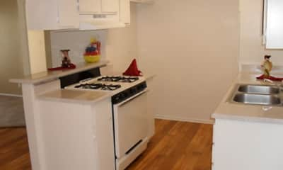 Kitchen, Casablanca Apartments, 0