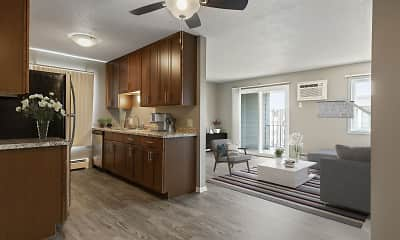 Kitchen, Cedars 94 Apartments, 0