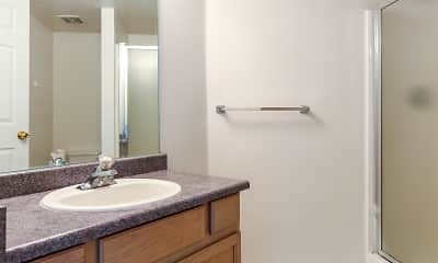 Bathroom, Compass Court Townhomes, 2