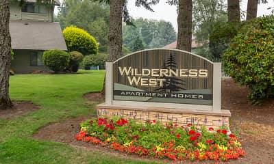 Community Signage, Wilderness West Apartments, 0