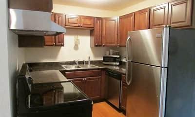 Kitchen, McCarrons Village Apartments, 1