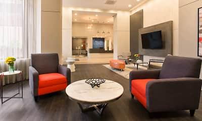 Living Room, Marlowe Apartments, 1