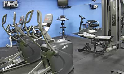 Fitness Weight Room, RidgeView Towers, 2