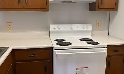 Kitchen, Oakleaf, 1