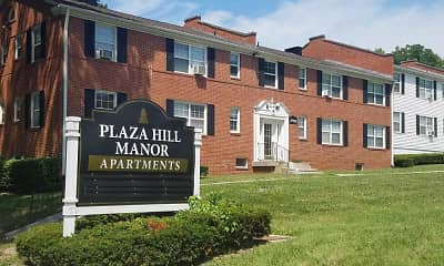 Community Signage, Plaza Hill Manor Apartments, 1