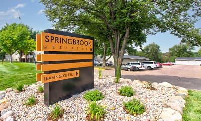 Community Signage, Springbrook Estates, 0