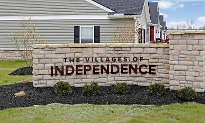 Community Signage, Villages of Independence, 2