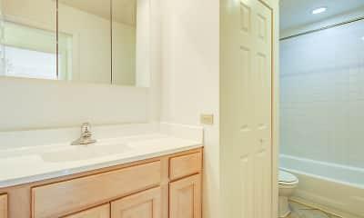 Bathroom, Emerald Courts, 2
