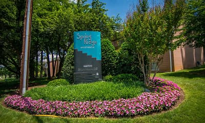 Community Signage, Spring Ridge Apartments, 1
